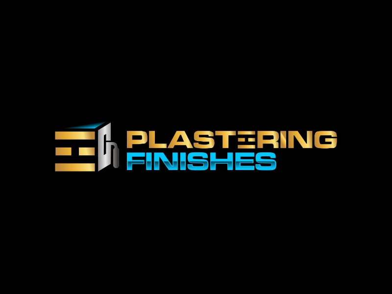 Plastering finishes logo design by ian69