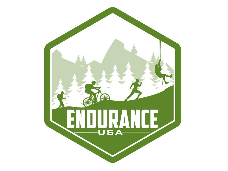 ENDURANCE,  ENDURANCE USA, OR the INITIALS; E USA Logo Design