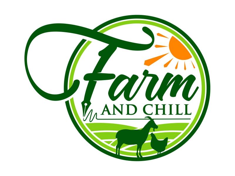 Farm and Chill logo design by mutafailan