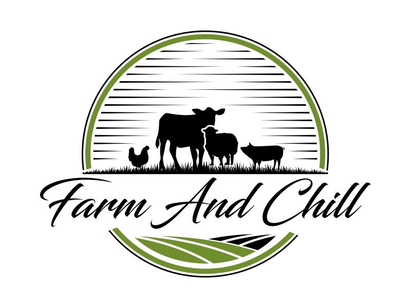 Farm and Chill logo design by qqdesigns