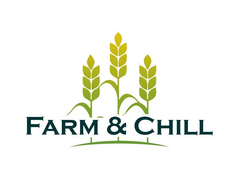 Farm and Chill logo design by Gwerth