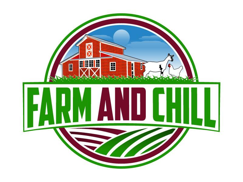 Farm and Chill logo design by Suvendu