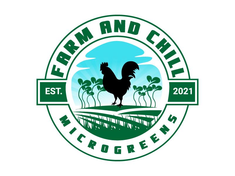 Farm and Chill logo design by drifelm
