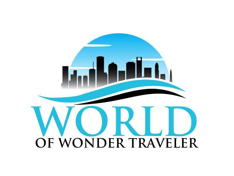 World Of Wonder Traveler logo design by ElonStark