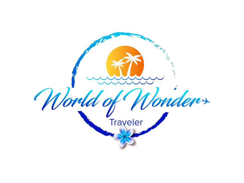 World Of Wonder Traveler logo design by czars