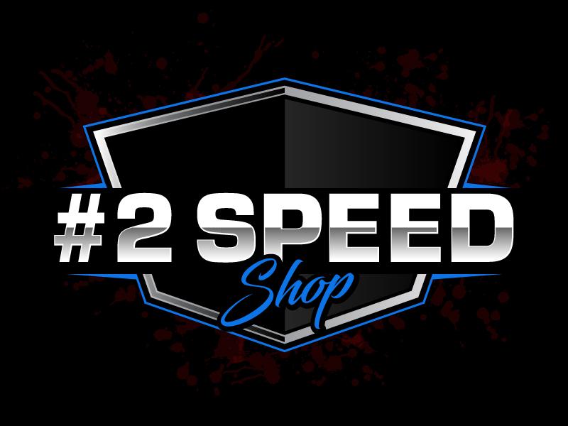 #2 SPEED SHOP logo design by ElonStark