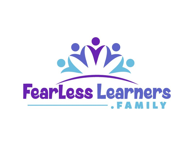 FearlessLearners.family Logo Design