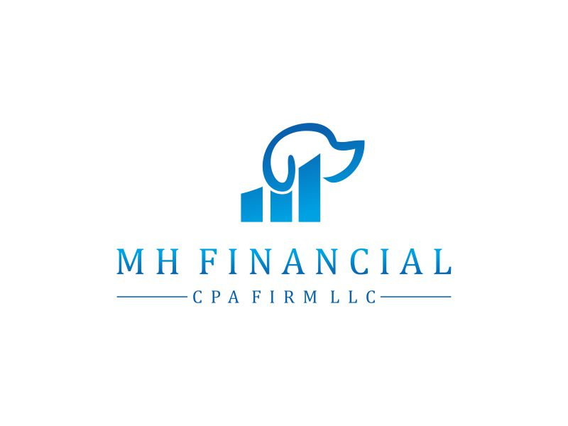 MH Financial CPA Firm LLC logo design by Editor