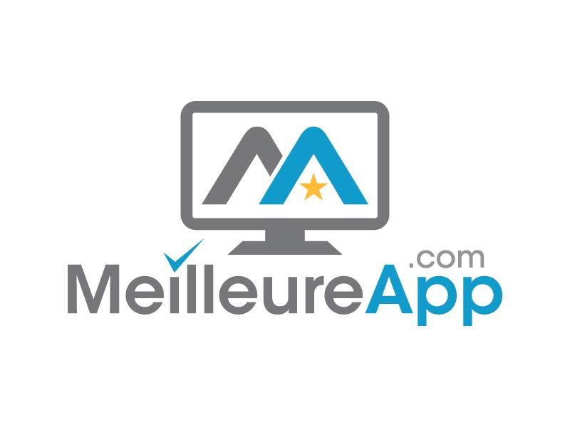 MeilleureApp.com logo design by Andri
