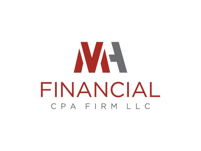 MH Financial CPA Firm LLC logo design by sndezzo