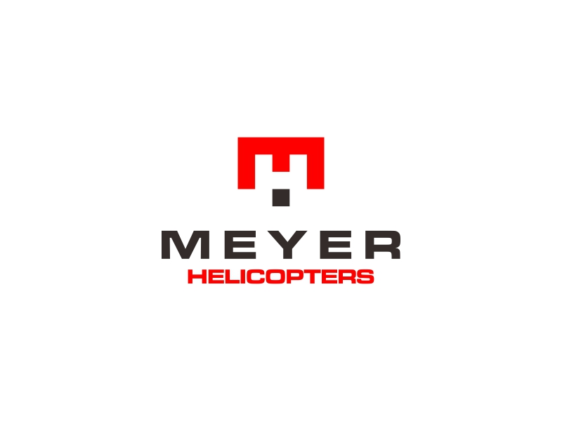 Meyer Helicopters logo design by asani