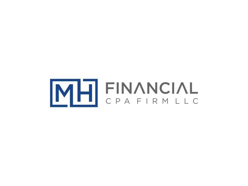 MH Financial CPA Firm LLC logo design by haidar