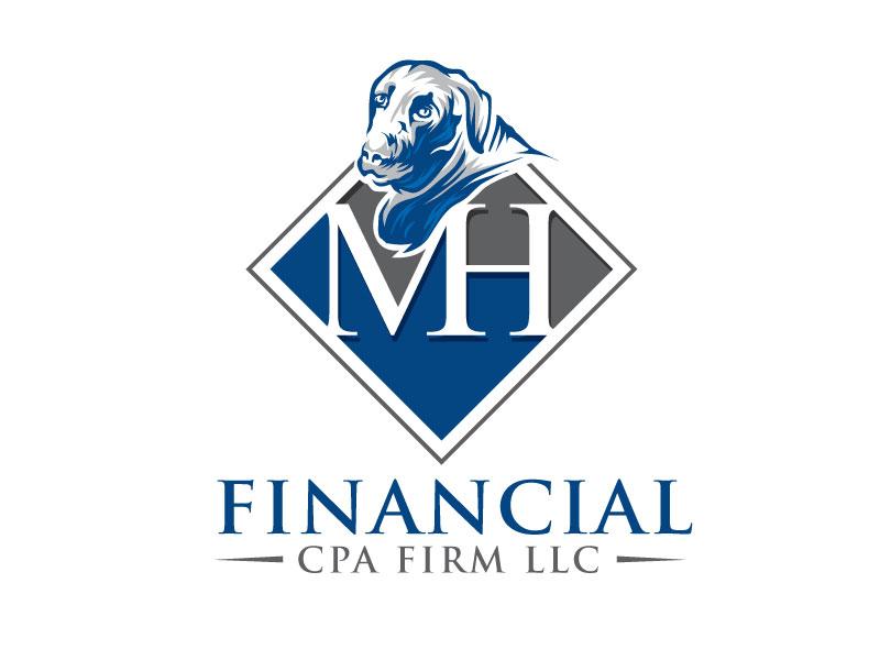 MH Financial CPA Firm LLC logo design by REDCROW