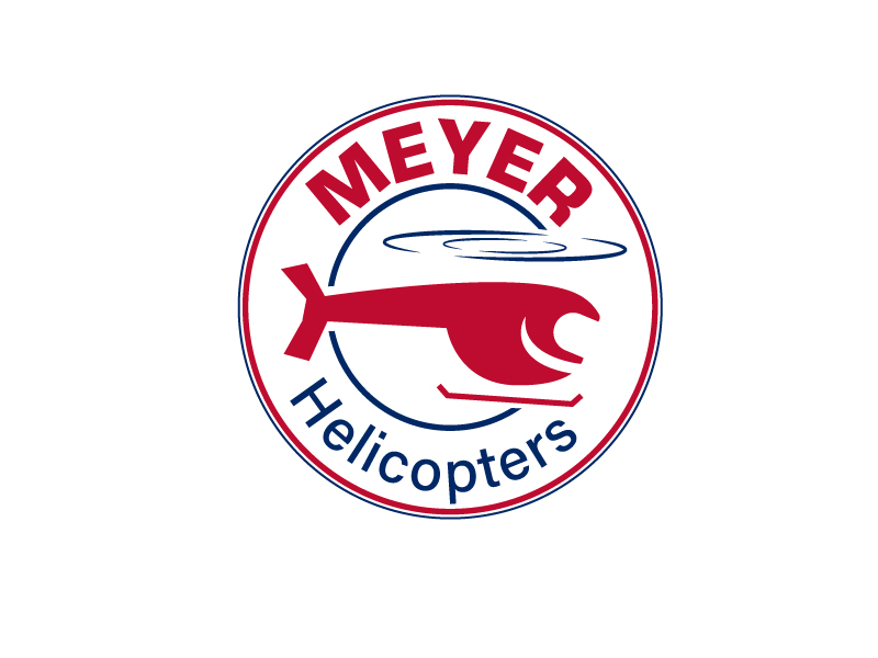 Meyer Helicopters logo design by Shailesh