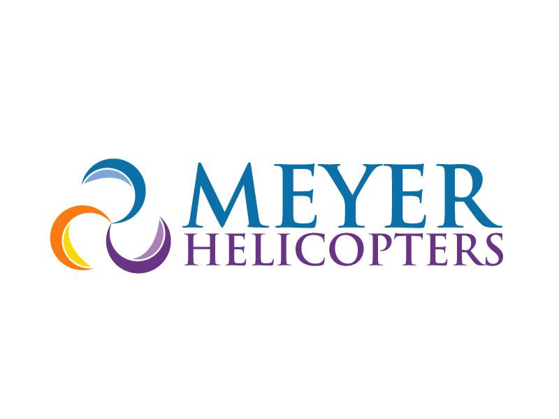 Meyer Helicopters logo design by ElonStark