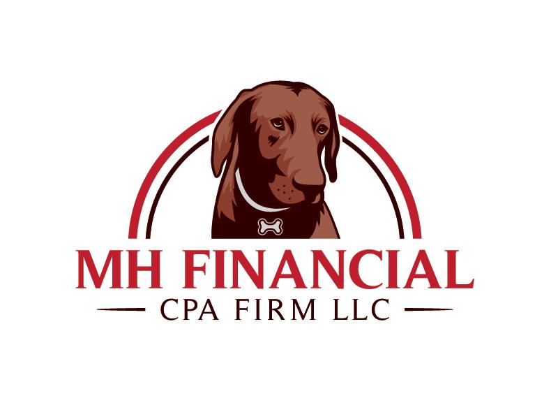 MH Financial CPA Firm LLC logo design by AthenaDesigns
