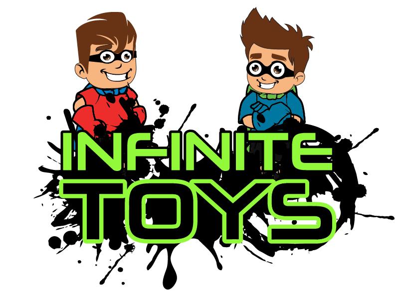 Infinite Toyz logo design by Carli Yario Lindahl