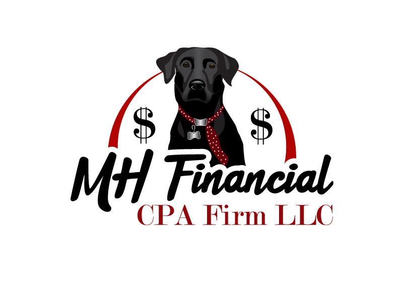 MH Financial CPA Firm LLC logo design by Bambhole