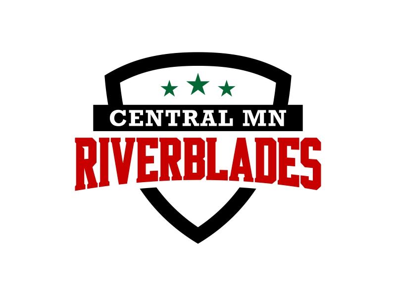 Central Minnesota Riverblades or Riverblades or Central MN Riverblades logo design by ingepro