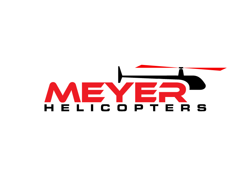 Meyer Helicopters logo design by jonggol