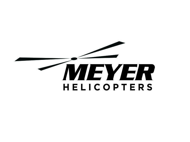 Meyer Helicopters logo design by susanto83