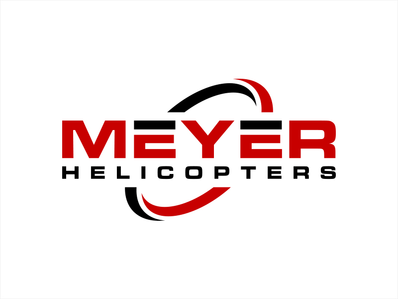 Meyer Helicopters logo design by lexipej