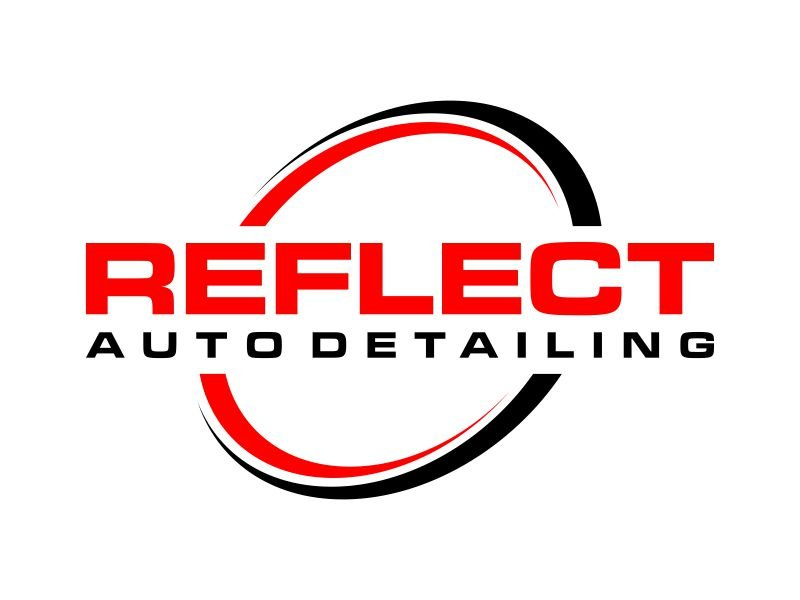 Reflect Auto Detailing logo design by Franky.