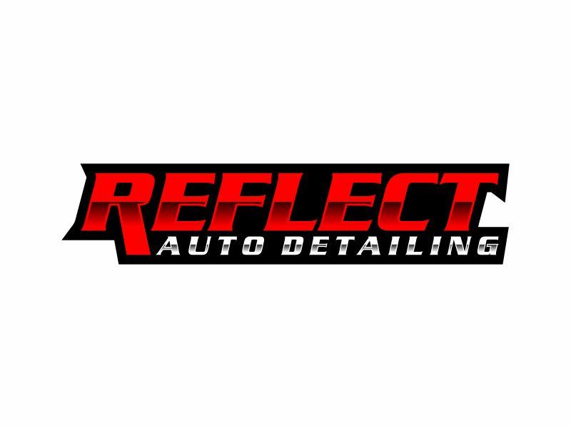 Reflect Auto Detailing logo design by ora_creative