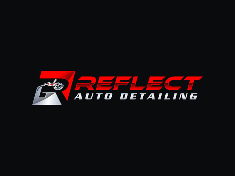 Reflect Auto Detailing logo design by Rizqy