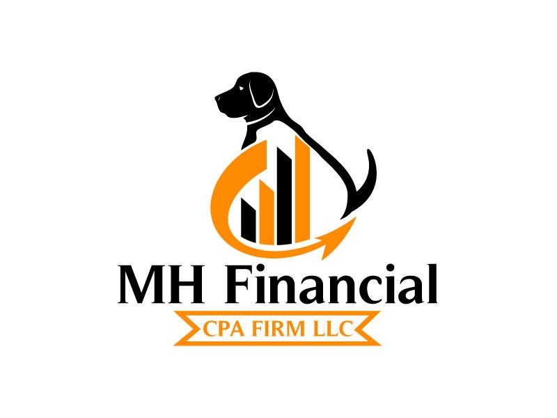 MH Financial CPA Firm LLC logo design by Pintu Das