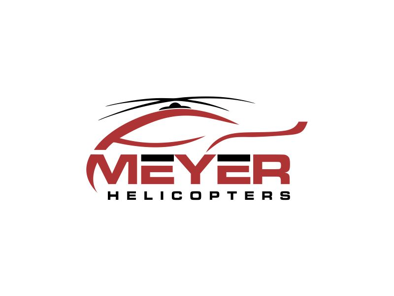 Meyer Helicopters logo design by oke2angconcept