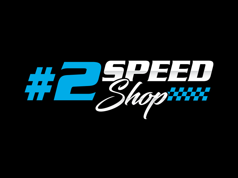 #2 SPEED SHOP logo design by labo