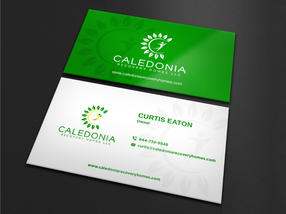 Caledonia Recovery Homes LLC logo design by Boomstudioz