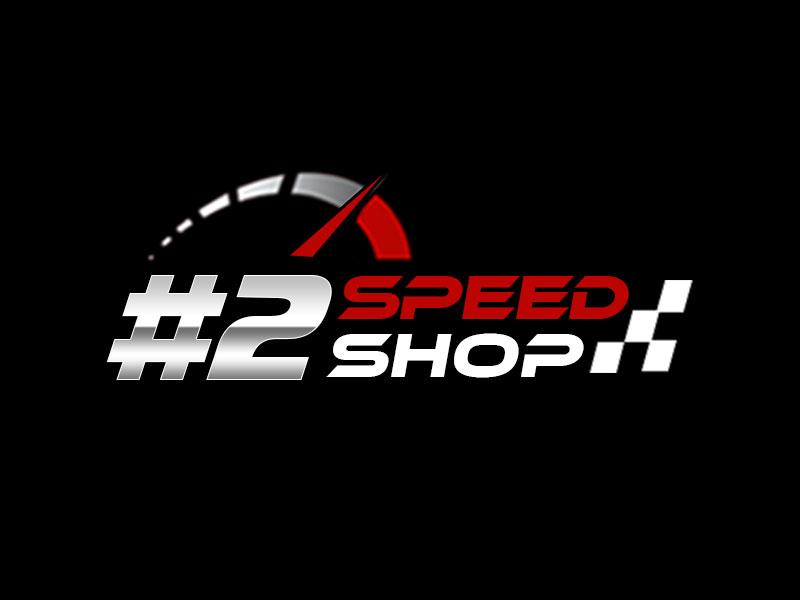 #2 SPEED SHOP logo design by kunejo