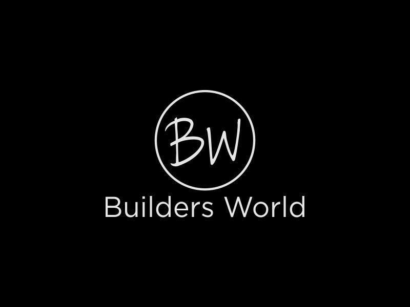 Builders World logo design by bismillah