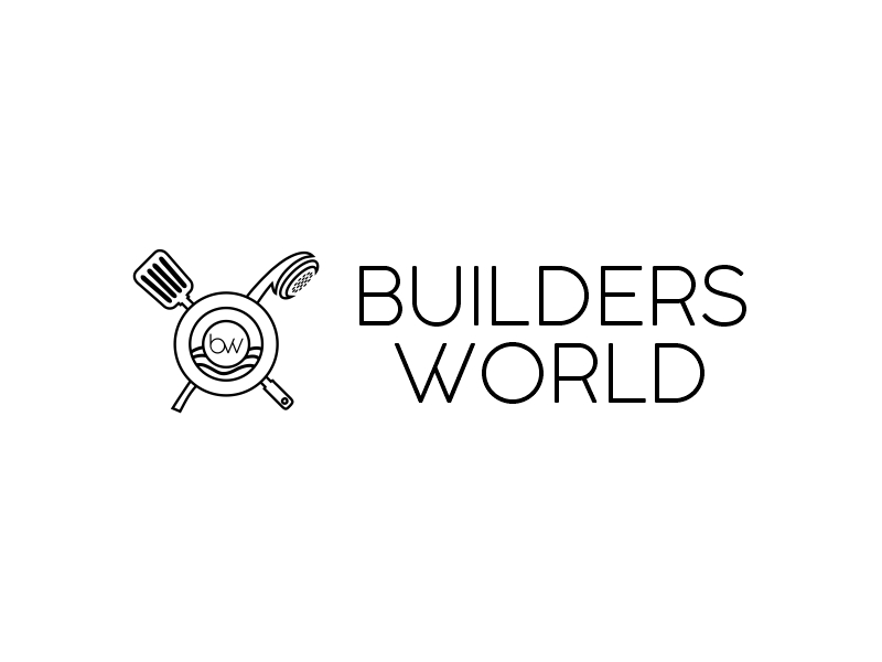 Builders World logo design by Lewi Anton Setiawan