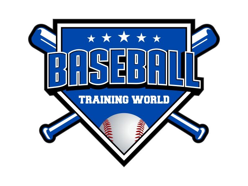 Baseball Training World logo design by Kruger