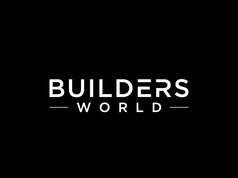 Builders World logo design by labo