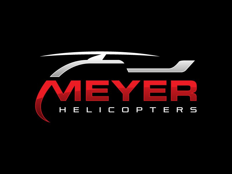 Meyer Helicopters logo design by nard_07