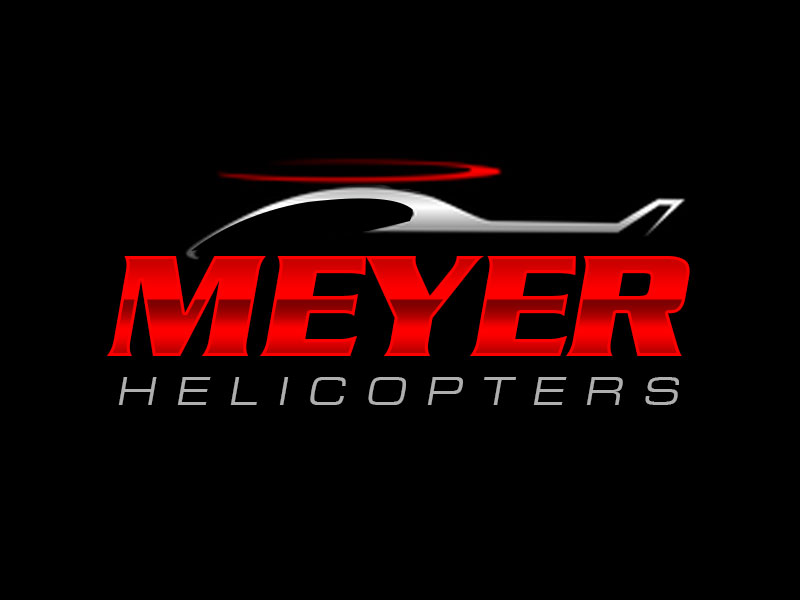 Meyer Helicopters logo design by kunejo