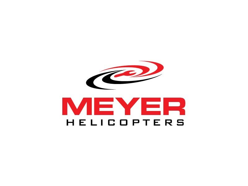 Meyer Helicopters logo design by usef44