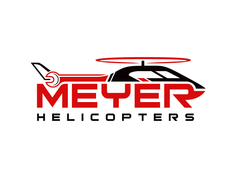 Meyer Helicopters logo design by Tuhin Subhra De
