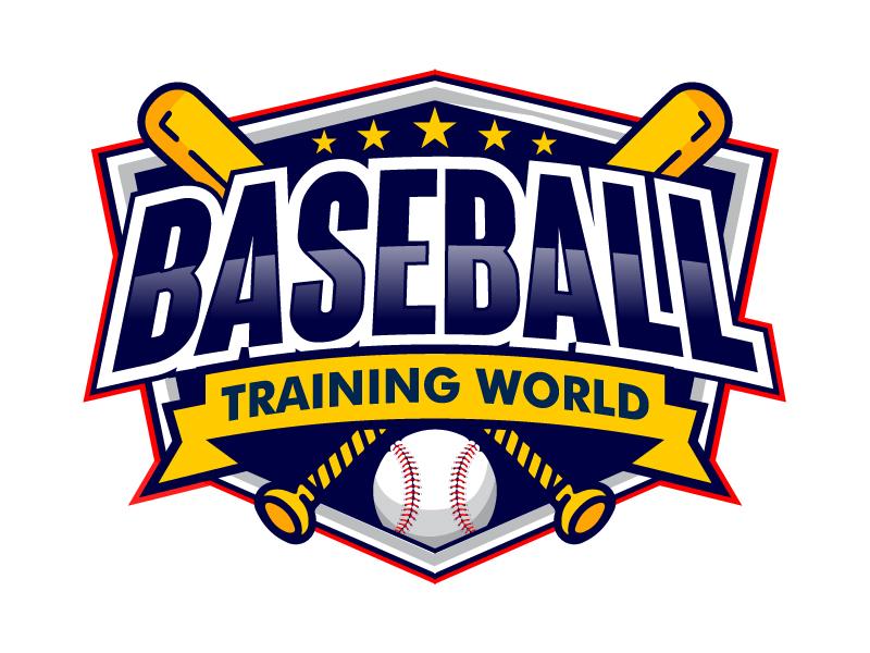 Baseball Training World logo design by uttam