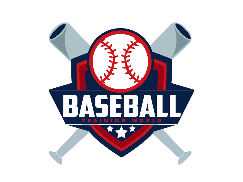 Baseball Training World logo design by ElonStark