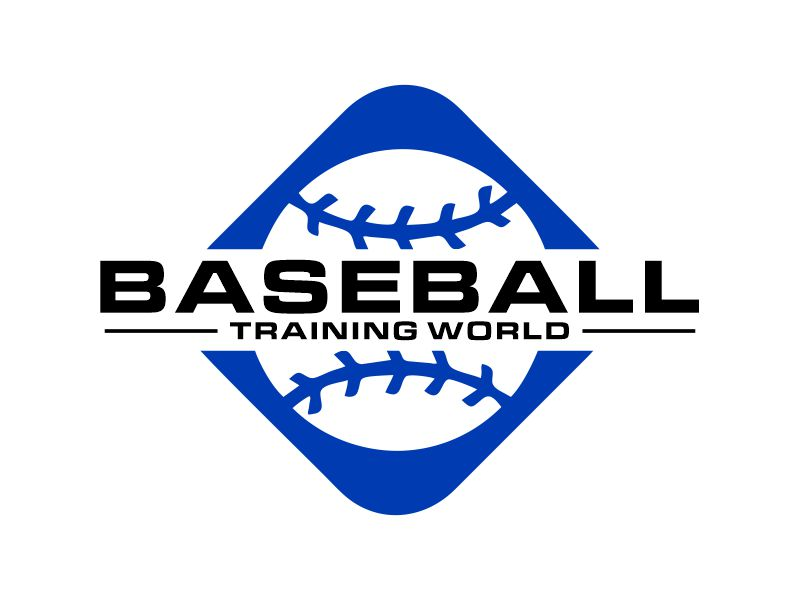 Baseball Training World logo design by Gwerth