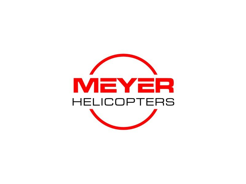 Meyer Helicopters logo design by Adundas