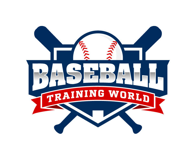 Baseball Training World logo design by jaize