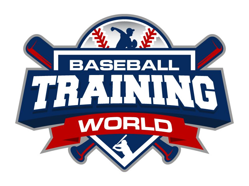 Baseball Training World Logo Design