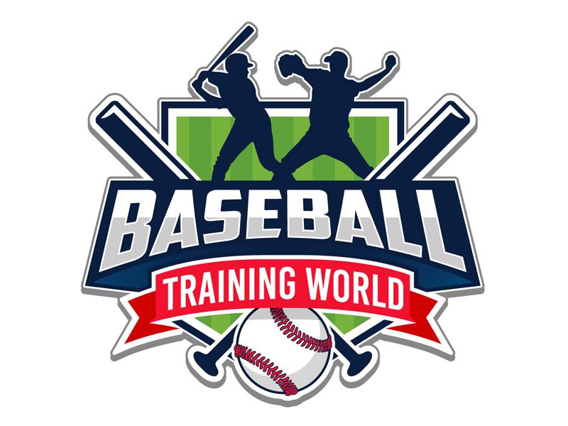 Baseball Training World logo design by DreamLogoDesign