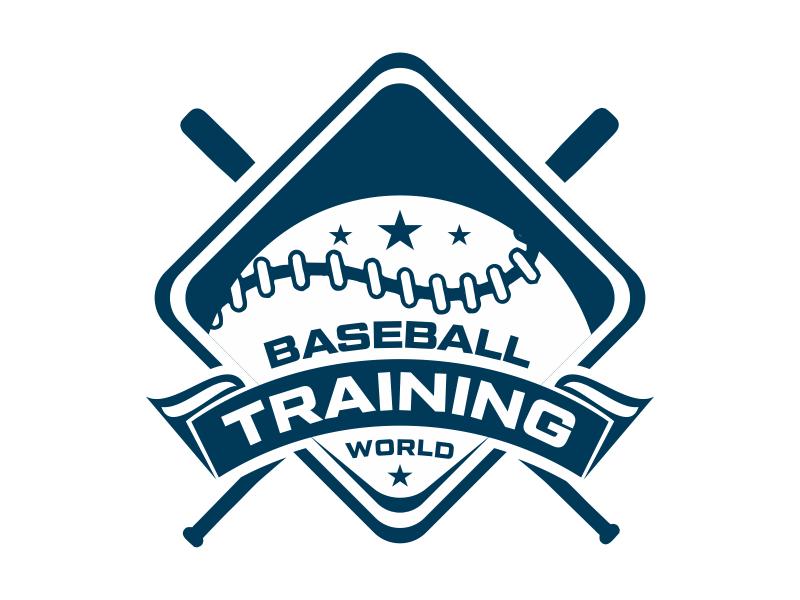 Baseball Training World logo design by cikiyunn